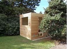 Saunahaus Im Garten - saunahaus square box ihre moderne gartensauna garten