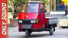 New Piaggio Ape 50 2019 Preview Only Sound