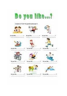 like sports worksheets 15833 do you like esl worksheet by stainboy76