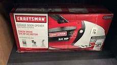 craftsman garage door opener system 3 4 hp belt quot craftsman quot 3 4 hp garage door opener
