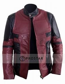 deadpool coats for deadpool leather jacket prostarjackets