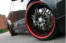 black rims with lip in white cars some thing white