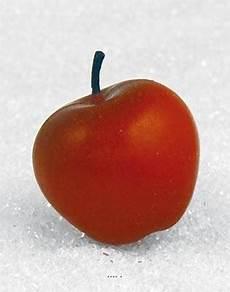 Pomme Artificielle Moyenne X 3 En Plastique Souffl 233