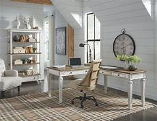 calgary home office furniture realyn 2 piece home office desk showhome furniture