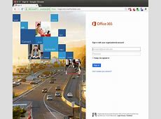 my office 365 sign in