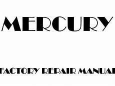 car repair manual download 2001 mercury villager parking system mercury villager factory manuals