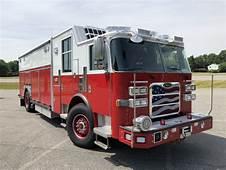 Pierce Fire Truck Arrow XT Heavy Duty Walk In Rescue With