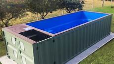 Container Als Pool - shipping container pools take reshniratnam