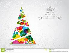 merry christmas tree shape vector merry christmas colorful tree shape stock vector illustration of silhouette illustration