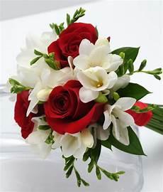 Three Bouquet Freesia Vegas Wedding Flowers