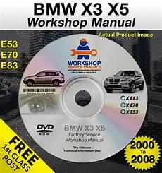 car repair manuals online free 2012 bmw x5 transmission control bmw x3 x5 workshop service repair manual e53 e70 e83 2000 2008 free post ebay