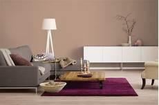 Wandfarben Brauntöne Wohnzimmer - innenfarbe in braun hellbraun streichen alpina