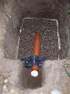 regenwasser drainage verlegen