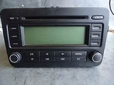 cd player radio vw golf v 5 rcd 300 1 6 fsi 85kw bag 50969