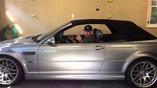 2006 Bmw E46 Convertible Top Trouble Going