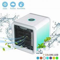 mini klimaanlage für zimmer 7 stimmungslichter mini 3 in 1 mit wasserk 252 hlung zimmer