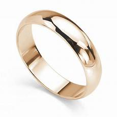 d shaped court wedding ring
