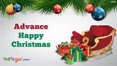advance merry christmas images greetings