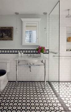 bathroom tiles black and white ideas lovely less generic than the typical white with occasional black hex pattern in the same shapes