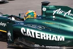 Team Lotus F1 Cars To Sport Caterham Logo At Silverstone