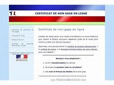 certificat de non gage dans quels lieux obtenir une attestation de non gage