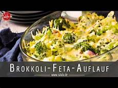 Brokkoli Feta Auflauf Low Carb Rezept Vegetarisch