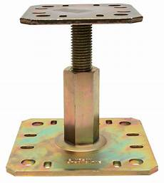 adjustable post support strongtie southern