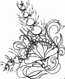 Gratis Malvorlagen Blumen Beeren Blueten Blaetter Ausmalbild Malvorlage Blumen