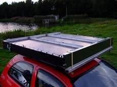 Dachzelt Selber Bauen - dachzelt eigenbau auf dem autodach zelten so geht das
