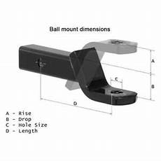 b w trailer hitches bmhd30210 class 5 2 quot drop ball for 2 1 2 quot receivers 843233003949 ebay