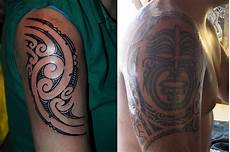 Maori Designs On Arm Images In 2019 Maori