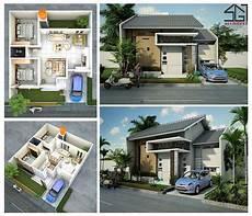 Gambar Desain Rumah Minimalis 2 Kamar Tidur Type 36