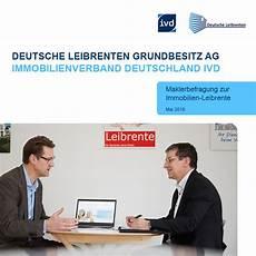 Deutsche Leibrenten B2b Studie 2018 Corpnewsmedia