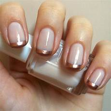 Nails Always Polished Gold Manicure Essie