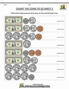 money counting worksheets free printable 2722 2nd grade money worksheets up to 2 with images money math worksheets money math money
