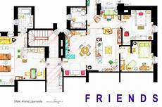 Sitcom Apartment Blueprints by 13 Incredibly Detailed Floor Plans Of The Most Tv