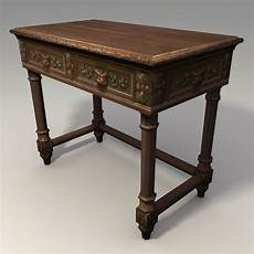 3ds Max Carved Table