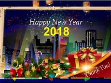 happy new year thank you greeting card 2018 youtube