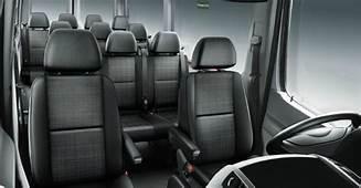 Passenger Capacity Of The Mercedes Benz Sprinter Van