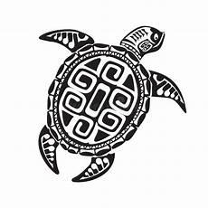 turtle in maori style vector illustration eps10 - Maorie Schildkröte