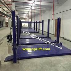 Garage Hydraulic Lift by Four Column Hydraulic 2 Level Parking Car Lift Garage Used