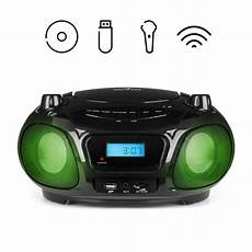 Auna Roadie Sing Boombox Lecteur Cd Mp3 Radio Fm Usb