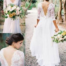 princess aline sleeved open back wedding dresses almette 2016 boho sheath wedding dress with sheer
