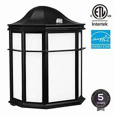 leonlite 14w led outdoor wall light dusk to dawn wall sconce 1050lm wall lantern light fixture