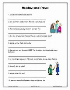 places to visit worksheets 16035 esl travel and holidays going places