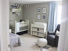 Kinderzimmer Blau Grau - a blue and gray sports inspired nursery project nursery