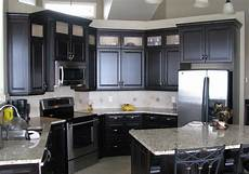 Ideas For Black Kitchen by Black Kitchen Cabinets Images Bajawebfest Inspiration