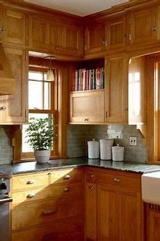 Kitchen Backsplash Ideas With Birch Cabinets by Prairie School Kitchen With Birch Cabinets And Grey