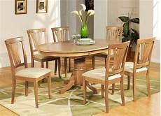 5 pc avon oval dinette kitchen dining table w 4 upholstery chairs in light oak ebay