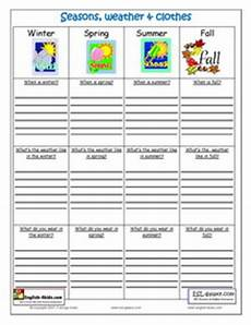 worksheets seasons and clothes 14754 new 276 grade worksheet on seasons firstgrade worksheet